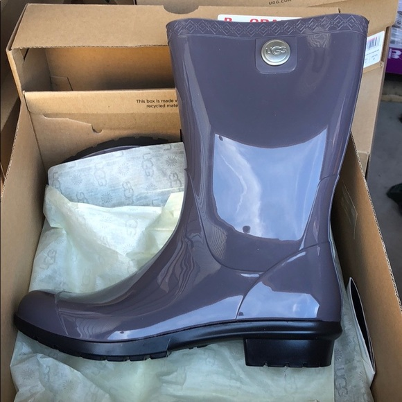 2114c2522c6 NIB Ugg Women's Size 6 Sienna Nightfall Rain Boots NWT